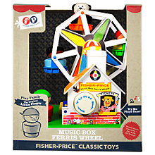 Buy Fisher-Price Classic Music Box Ferris Wheel Online at johnlewis.com