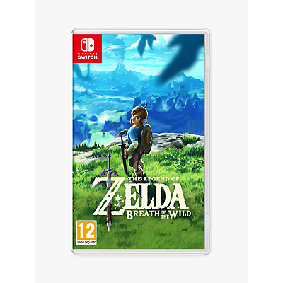 Nintendo The Legend of Zelda: Breath of the Wild, Switch