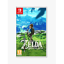 Buy Nintendo The Legend of Zelda: Breath of the Wild, Switch Online at johnlewis.com
