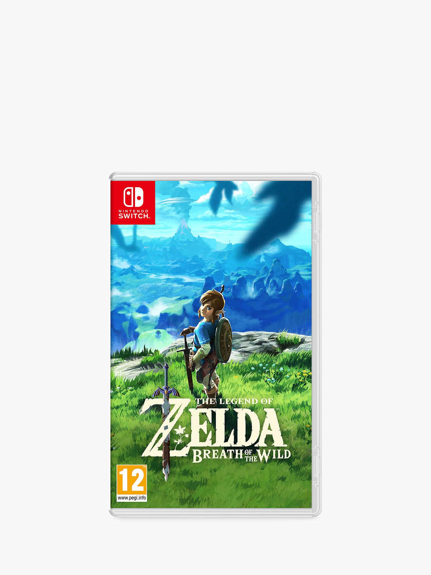 Nintendo The Legend of Zelda: Breath of the Wild, Switch