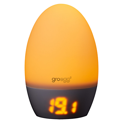 Gro Egg 2 Baby Thermometer and Night Light