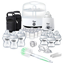Buy Tommee Tippee Closer to Nature Complete Feeding Set, White Online at johnlewis.com