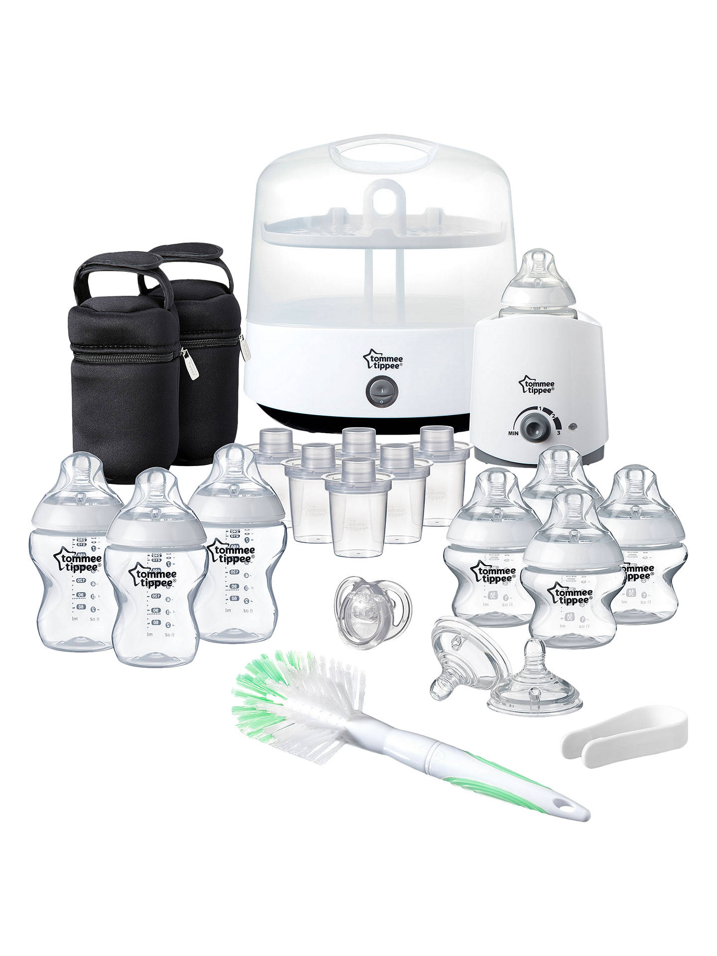 Tommee Tippee Closer To Nature Complete Feeding Set At John Lewis