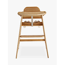 Buy John Lewis Leckford Highchair, Natural Online at johnlewis.com