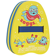 Buy Zoggs Backfloat, 2-6 years, Yellow/Blue Online at johnlewis.com