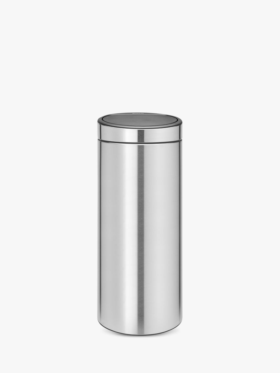 Brabantia Brabantia Fingerprint Proof Touch Bin, Matt Steel, 30L
