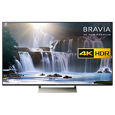 Sony Bravia KD55XE9305 LED HDR 4K Ultra HD Smart Android TV, 55 with Freeview HD, Youview & Ultra-Slim Design, Black