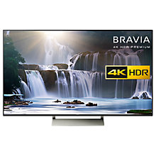 "Buy Sony Bravia KD55XE9305 LED HDR 4K Ultra HD Smart Android TV, 55"" with Freeview HD, Youview & Ultra-Slim Design, Black Online at johnlewis.com"