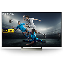 "Buy Sony Bravia KD65XE9305 LED HDR 4K Ultra HD Smart Android TV, 65"" with Freeview HD, Youview & Ultra-Slim Design, Black Online at johnlewis.com"