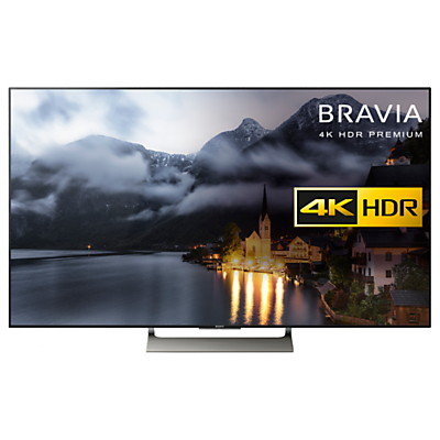 Sony Bravia KD55XE9005 LED HDR 4K Ultra HD Smart Android TV, 55 with Freeview HD & Youview, Black