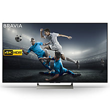 "Buy Sony Bravia KD55XE9005 LED HDR 4K Ultra HD Smart Android TV, 55"" with Freeview HD & Youview, Black Online at johnlewis.com"