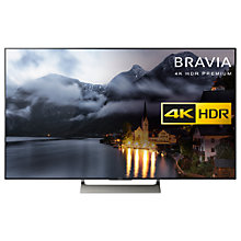 "Buy Sony Bravia KD75XE9005 LED HDR 4K Ultra HD Smart Android TV, 75"" with Freeview HD + HT-MT500 Sound Bar & Subwoofer Online at johnlewis.com"