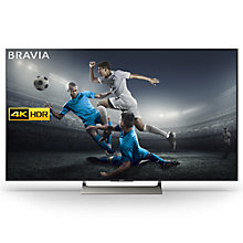 "Buy Sony Bravia KD75XE9005 LED HDR 4K Ultra HD Smart Android TV, 75"" with Freeview HD & Youview, Black Online at johnlewis.com"