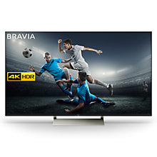 "Buy Sony Bravia KD65XE9005 LED HDR 4K Ultra HD Smart Android TV, 65"" with Freeview HD & Youview, Black Online at johnlewis.com"