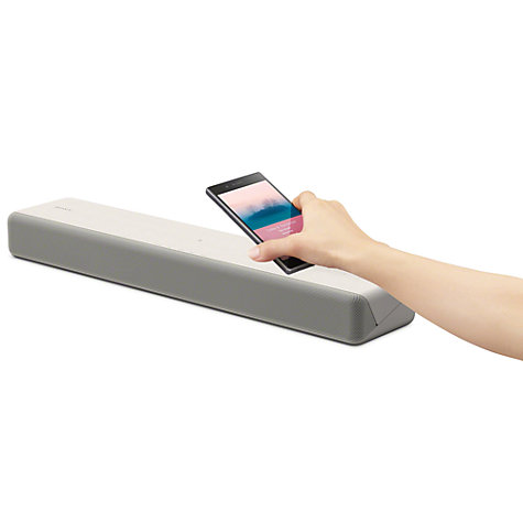 Buy Sony HT-MT301 Bluetooth NFC Compact Sound Bar with Ultra-Slim Wireless Subwoofer, Creme White Online at johnlewis.com