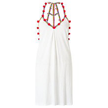 Buy Pitusa Pom Pom Dress, White Online at johnlewis.com