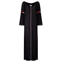 Buy Pitusa Gypsy Maxi Dress, Black Online at johnlewis.com