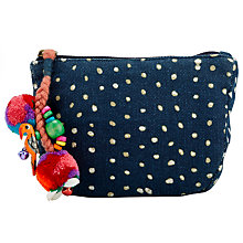 Buy Star Mela Mari Print Mini Purse, Indigo Online at johnlewis.com