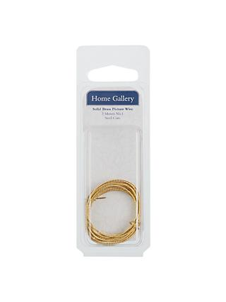 Home Gallery Solid Brass Picture Wire, 3m