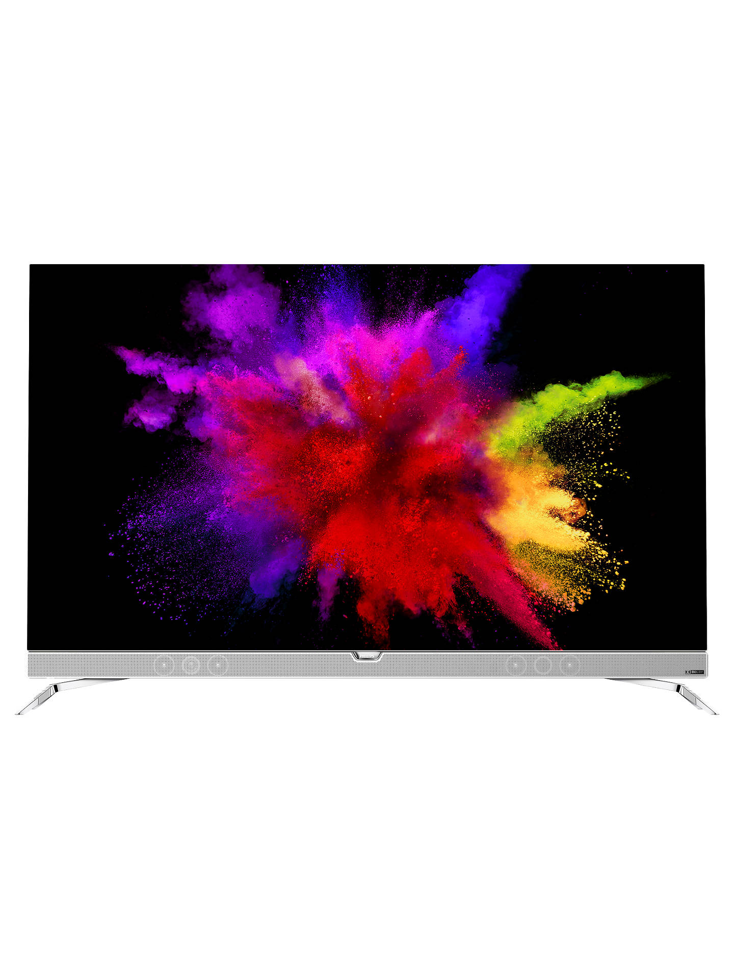 Philips 55POS901 OLED HDR 4K Ultra HD Smart Android TV, 55