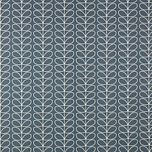Buy Orla Kiely Linear Stem PVC Tablecloth Fabric, Cool Grey Online at johnlewis.com