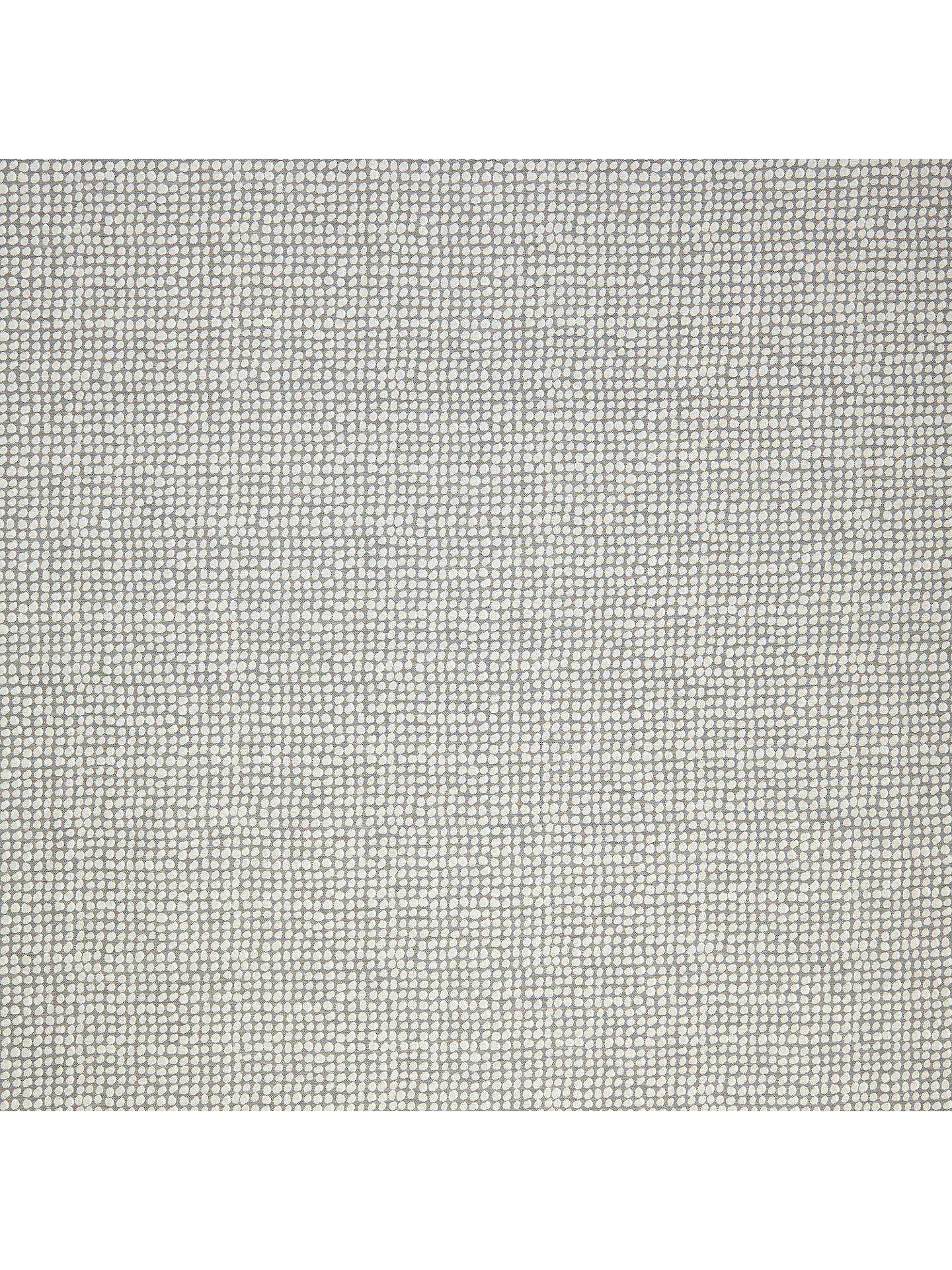 Buy John Lewis & Partners Luna Spot Furnishing Fabric, Steel Online at johnlewis.com