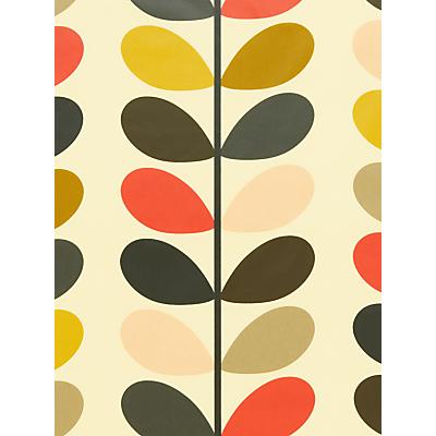 Orla Kiely Multi Stem PVC Tablecloth Fabric, Multi