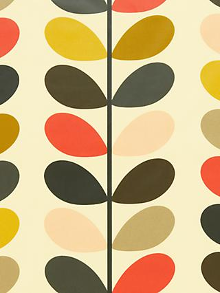 Orla Kiely Multi Stem PVC Tablecloth Fabric, Multi