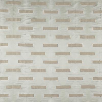 John Lewis & Partners Lawson Furnishing Fabric, Silver / Mint