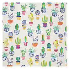 Buy John Lewis Cacti PVC Table Covering Fabric, Multi Online at johnlewis.com