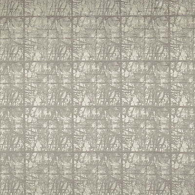 John Lewis & Partners Kyla Furnishing Fabric, Silver / Grey