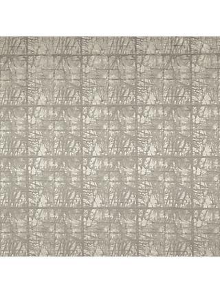 John Lewis & Partners Kyla Furnishing Fabric, Silver / Grey