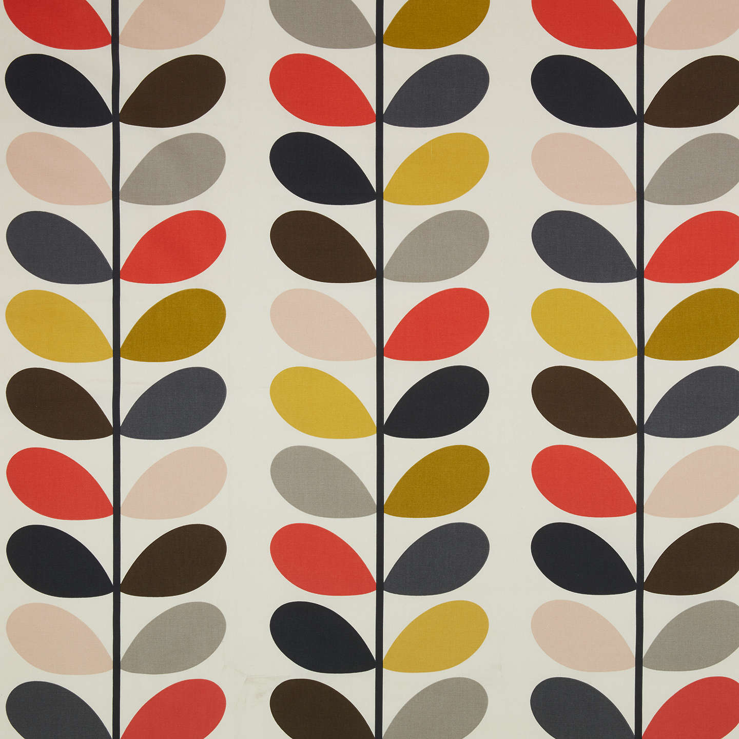 orla kiely multi stem furnishing fabric at john lewis