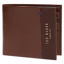 Buy Ted Baker Slipper Grain Bifold Leather Wallet Online at johnlewis.com