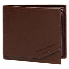 Buy Ted Baker Rajah Leather Coin Wallet, Tan Online at johnlewis.com