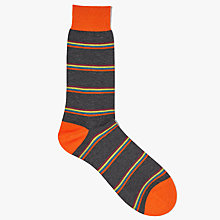 Buy Ted Baker Jehans Multi Stripe Socks, One Size Online at johnlewis.com