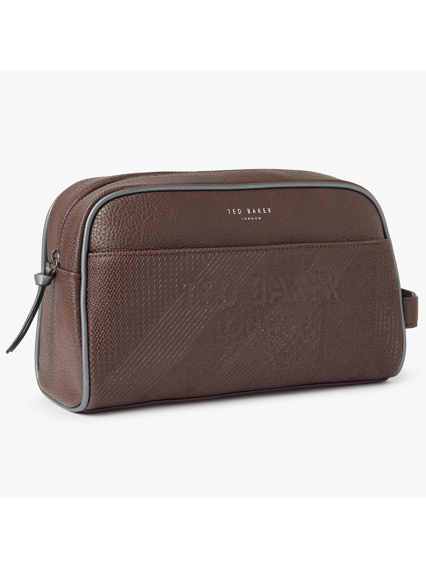 d8da0917acbf Buy Ted Baker Lockout Embossed Wash Bag