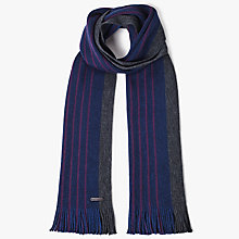 Buy Ted Baker Elmm Raschel Knit Scarf, Blue Online at johnlewis.com