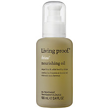 Buy Living Proof No Frizz Nourishing Oil, 100ml Online at johnlewis.com