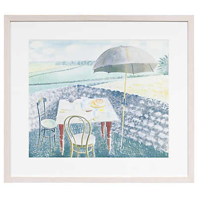 Eric Ravilious – Tea At Furlongs Framed Print, 44 x 50cm