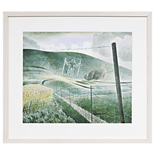 Buy Eric Ravilious - The Long Man Of Wilmington Framed Print, 52 x 66cm Online at johnlewis.com