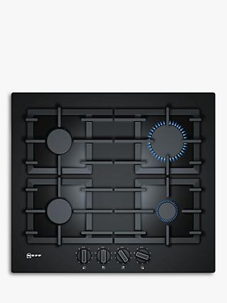 Neff T26CS49S0 Gas Hob, Black