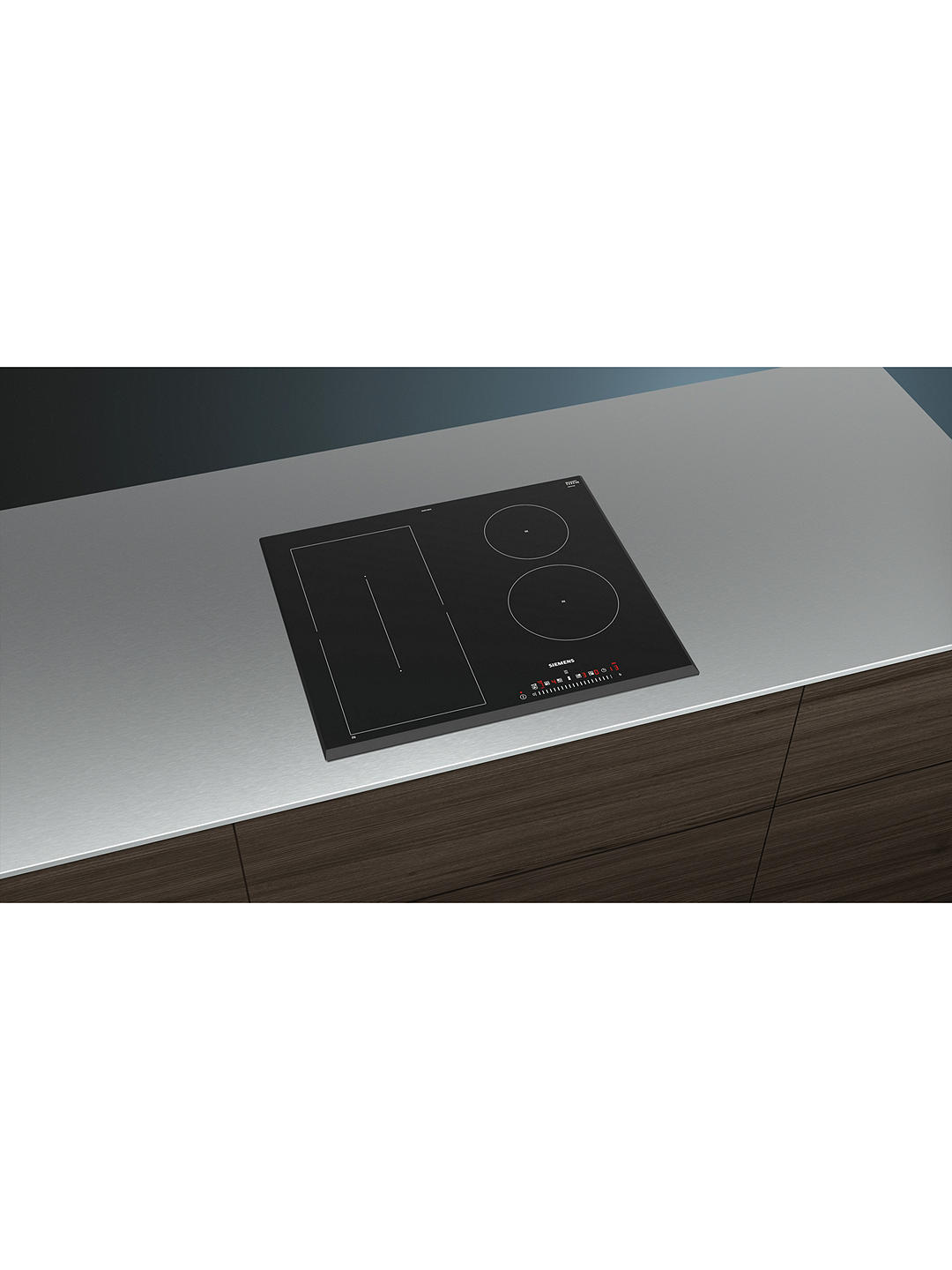 Buy Siemens ED651FSB1E Induction Hob, Black Online at johnlewis.com