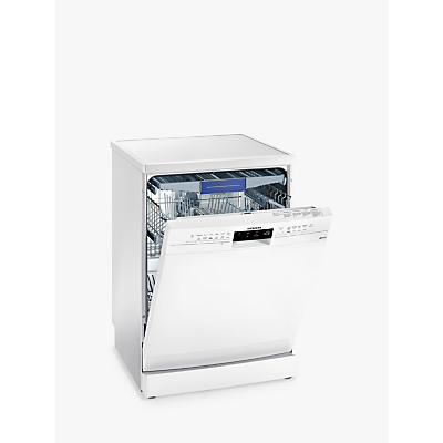 Siemens SN236W01MG Freestanding Dishwasher, White