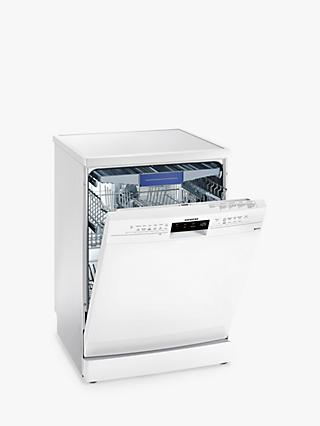Siemens SN236W01MG Freestanding Dishwasher, White
