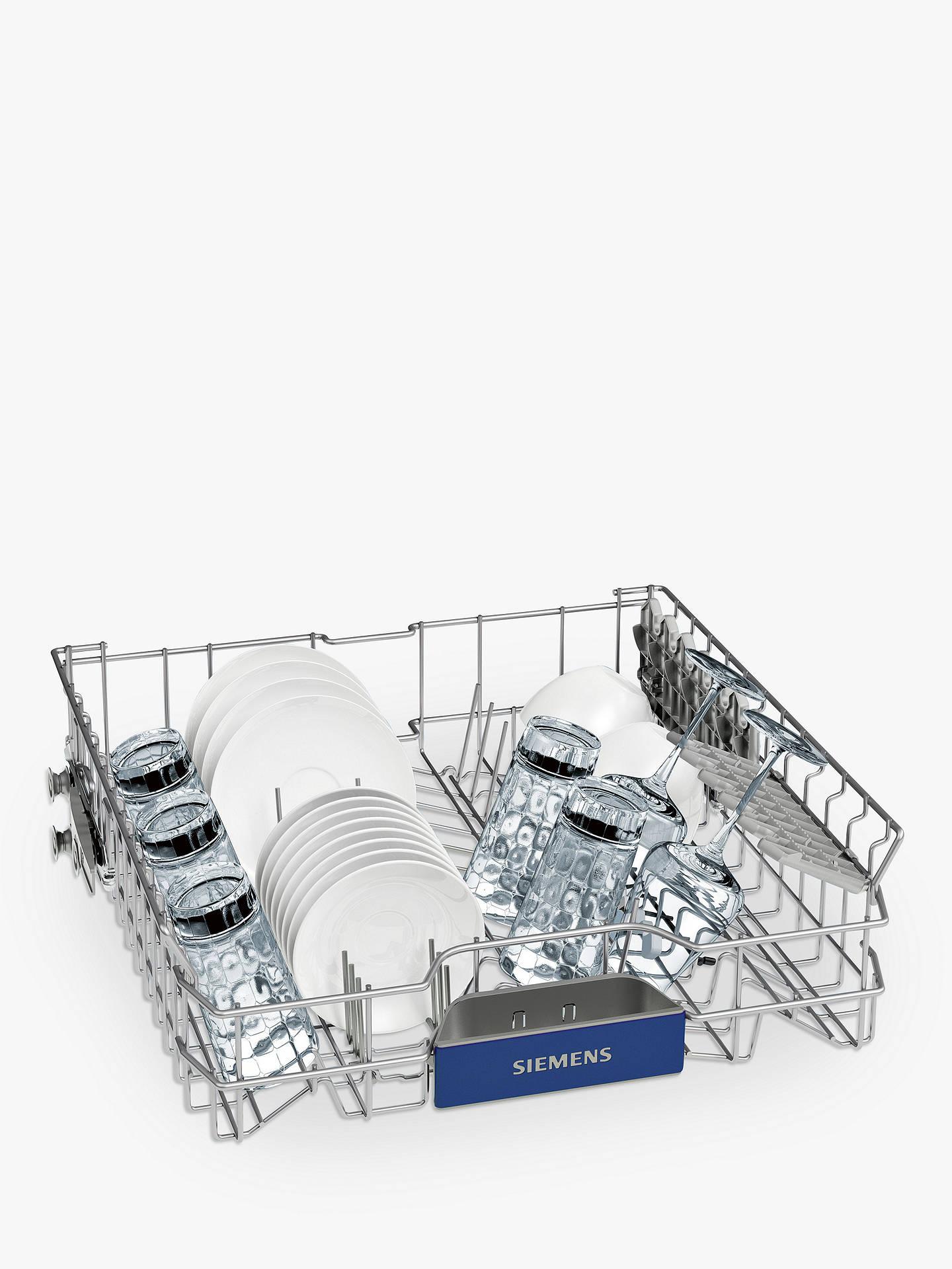Siemens SN236W01MG Freestanding Dishwasher, White at John Lewis ...