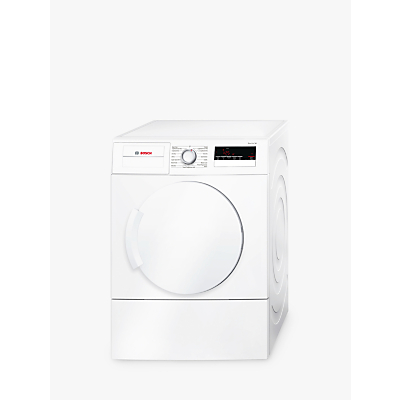 Image of Bosch WTA79200GB Vent Tumble Dryer, 7kg Load, C Energy Rating, White