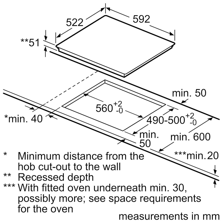 neff t46fd53x0 induction hob black glass at john lewis rh johnlewis com Wiring- Diagram RJ45 Wiring -Diagram