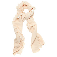 Buy Phase Eight Freya Pleated Scarf, Cameo Online at johnlewis.com