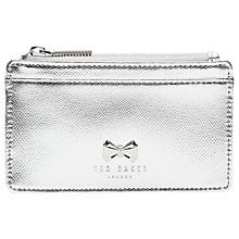 Buy Ted Baker Satinii Leather Coin Purse Online at johnlewis.com